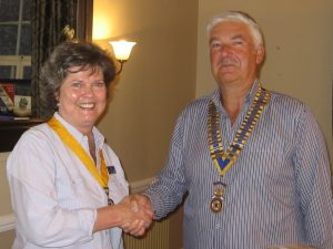 Vice President Andrea Lord and President Steve Harding