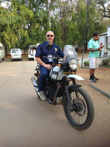 Alex Cooke Rides across India