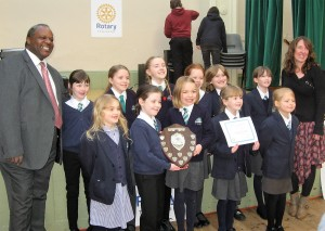Group winners Silverstone Primary School Choir
