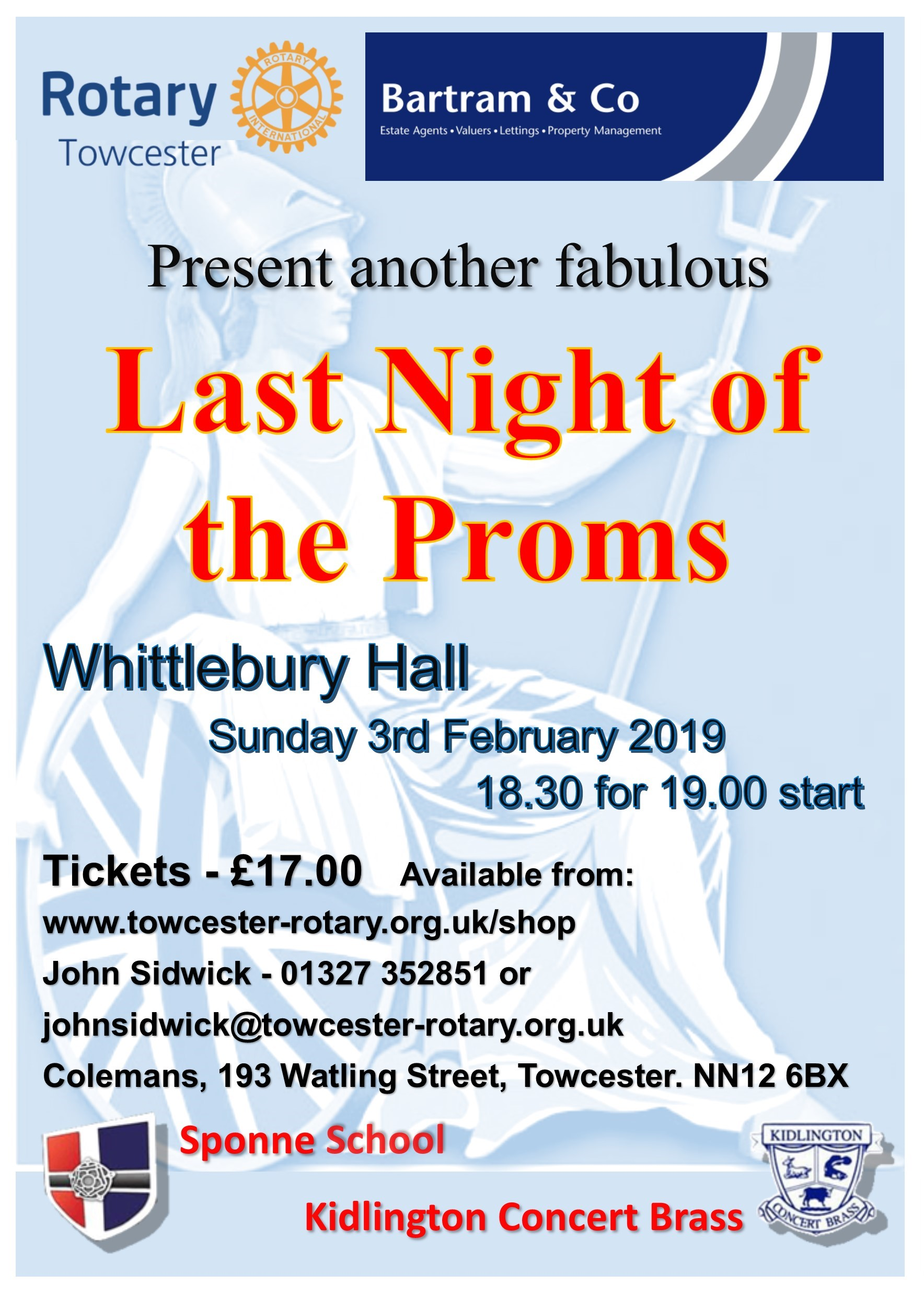 Proms poster